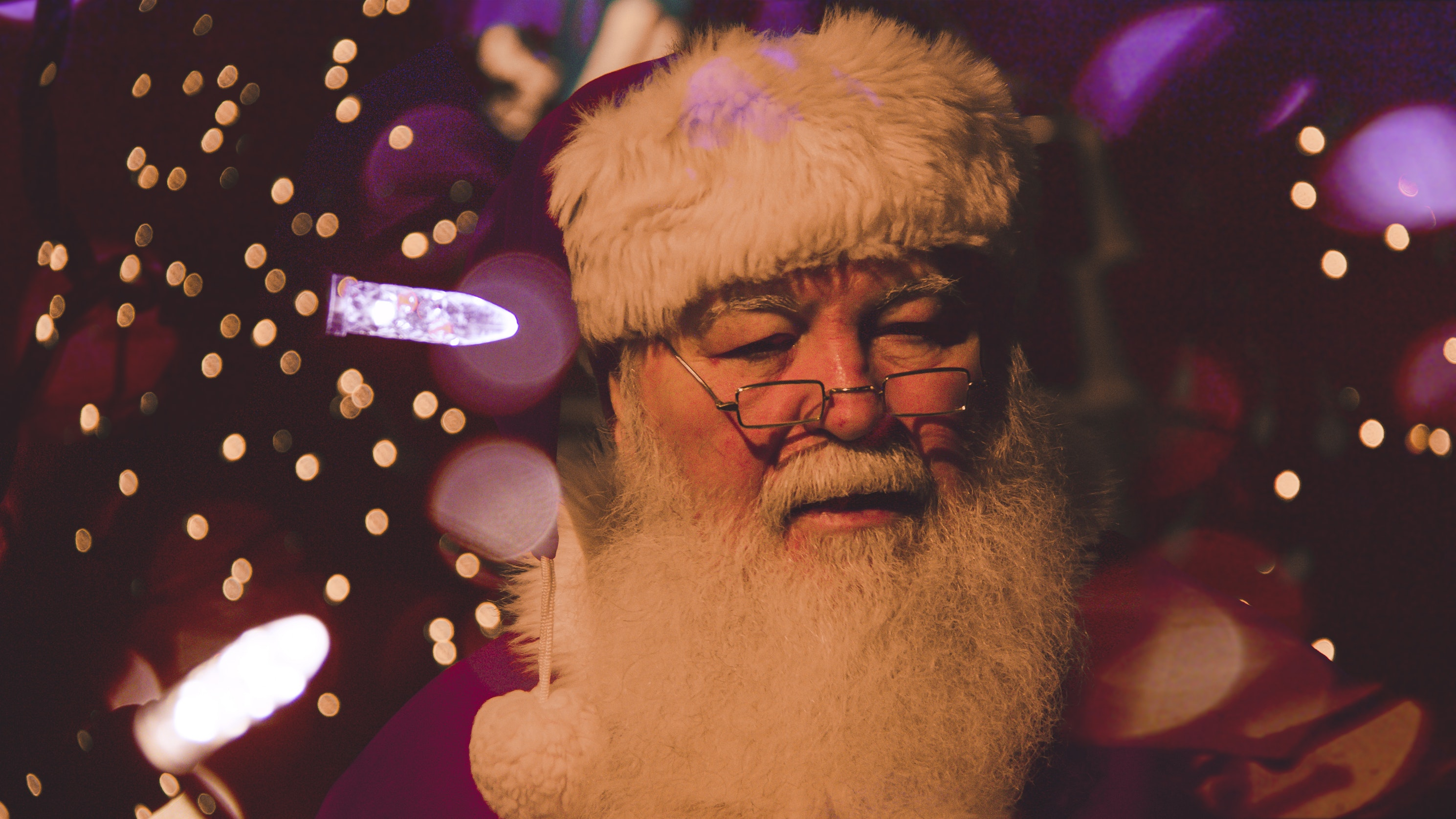 Father Christmas in Cornwall