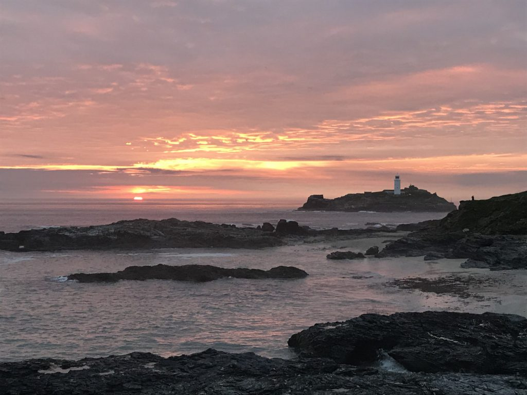 View of Godrevy Lighthouse