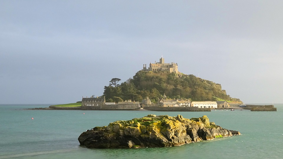 View of St Michael's Mount from Marazion