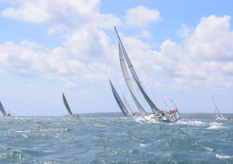 Yachts taking part in the Azores and Back Race
