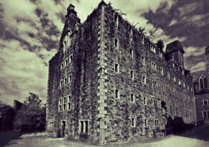 The exterior of Bodmin Jail in Cornwall