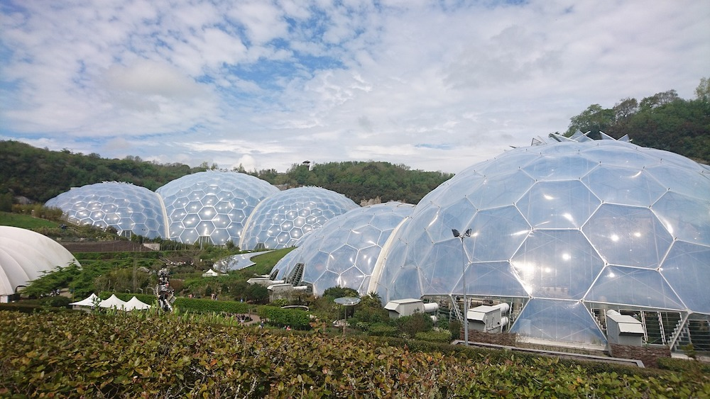 The domes at the Eden Project