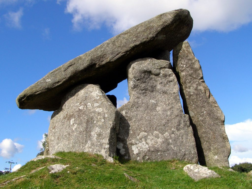 Trethvy Quoit burial chamber
