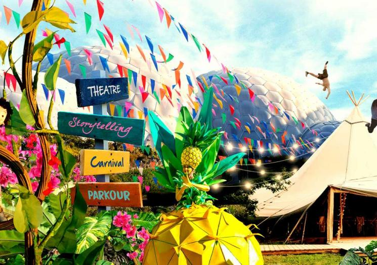 The summer of celebration at the Eden Project